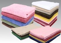 オイルがタオルに染み込み、洗濯しても落ちにくい。